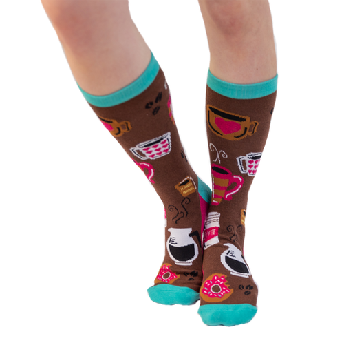Latte  Socks by Lazy One