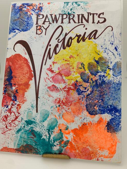 Victoria's Original Paw Painting #5611 9X12