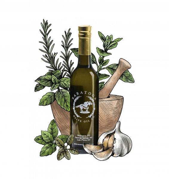 Tuscan Herb Olive Oil 375 ml. Bottle
