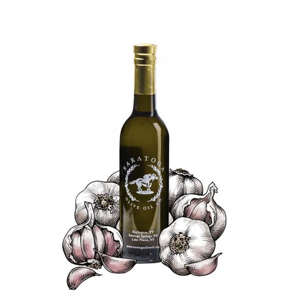 Garlic Olive Oil 375 ml. Bottle