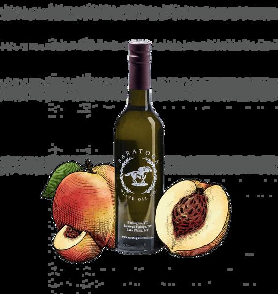 Peach Balsamic Vinegar 375 ml. Bottle