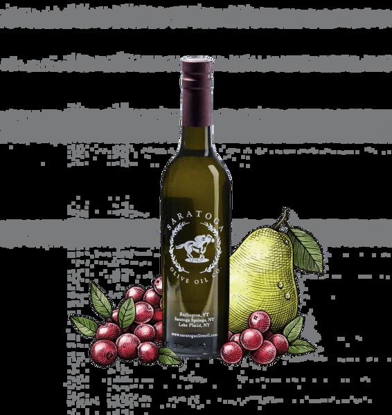 Cranberry Pear Balsamic Vinegar 375 ml Bottle
