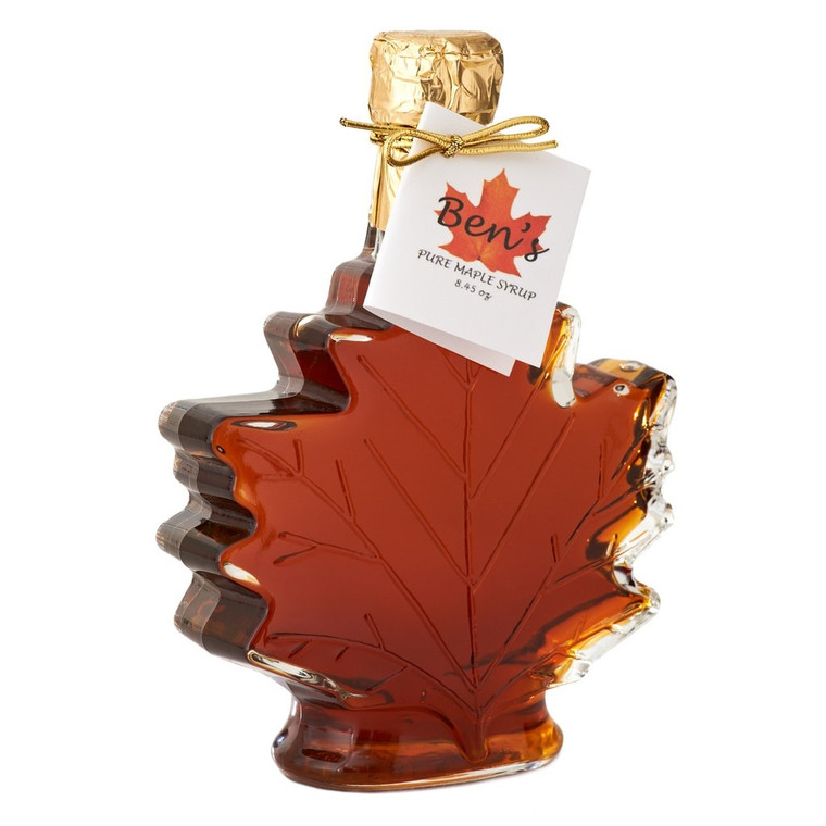 Pure Maple Syrup Leaf Decanter 8.45 oz.