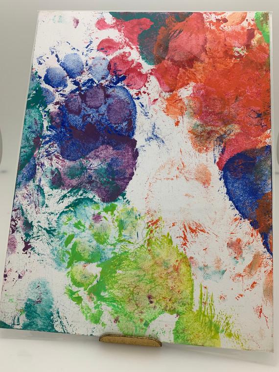 Victoria's Original Paw Painting #5030  9X12