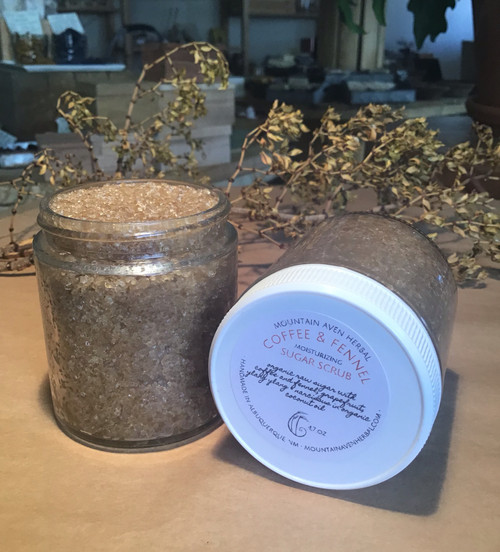 Coffee & Fennel Sugar Scrub