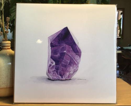 Amethyst 8x8 Print