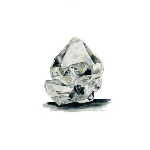 Herkimer Diamond Print