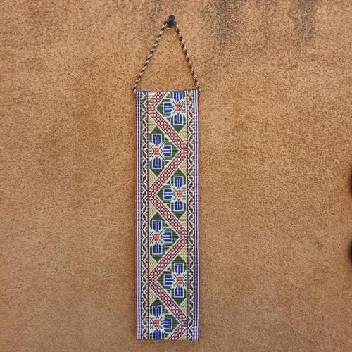 Byzantine Tapestry Woven Beadwork