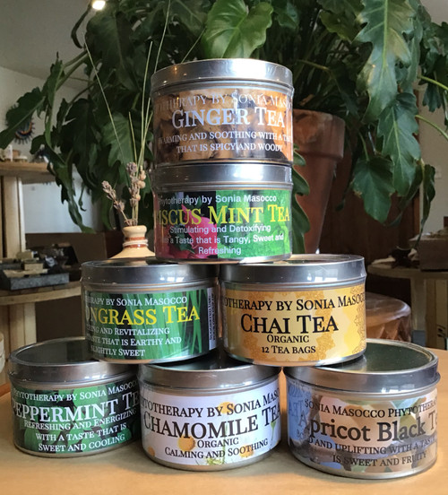 Tea: Lemongrass Herbal Tea Bags