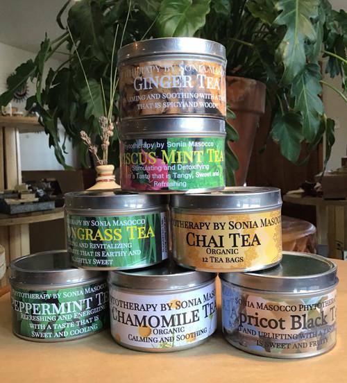Tea: Peppermint Herbal Tea Bags