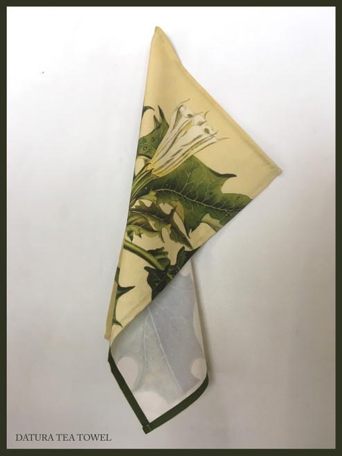 Tea Towel - Datura