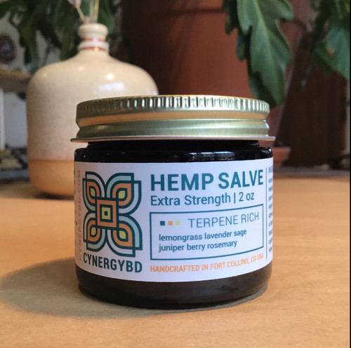 Hemp Pine Salve 2oz