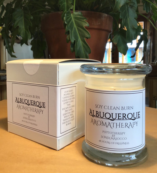 "Candle: ""The Albuquerque"" - Spa Collection"
