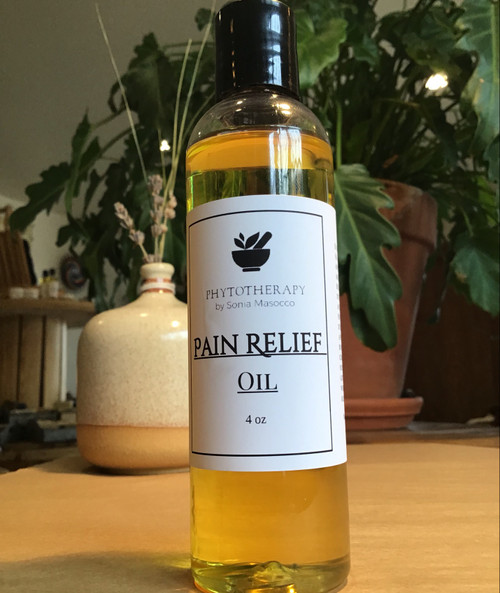 Pain Relief Oil 4oz
