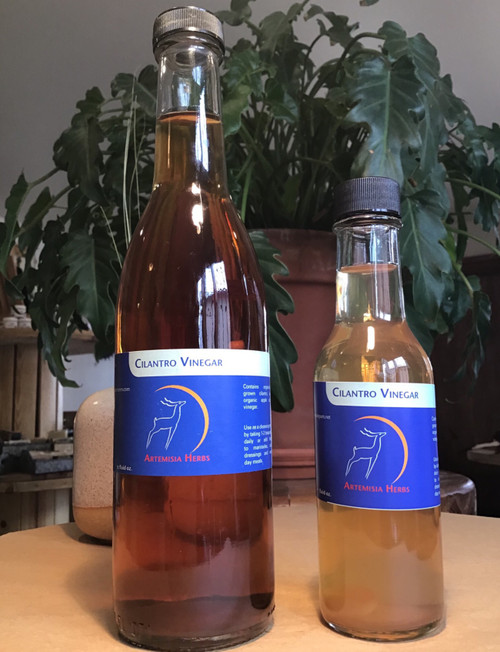 Cilantro Vinegar