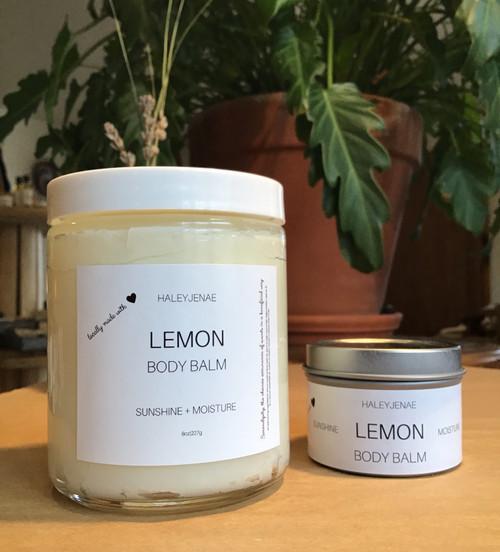 Lemon Body Balm 8oz