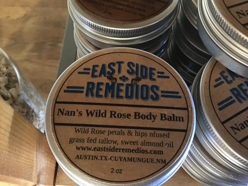 Nan's Wild Rose Body Balm