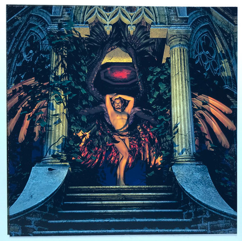 Fantasy Holiday Card: Luminescent
