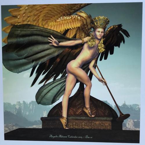 Fantasy Holiday Card: The Herald Angel