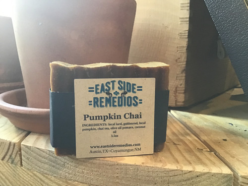 Pumpkin Chai Soap