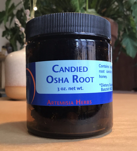 Candied Osha Root