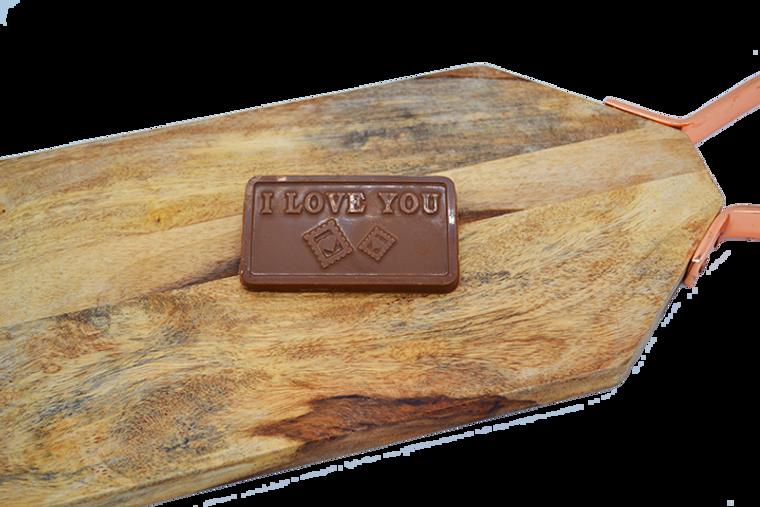 Platter's I Love You Chocolate Bar