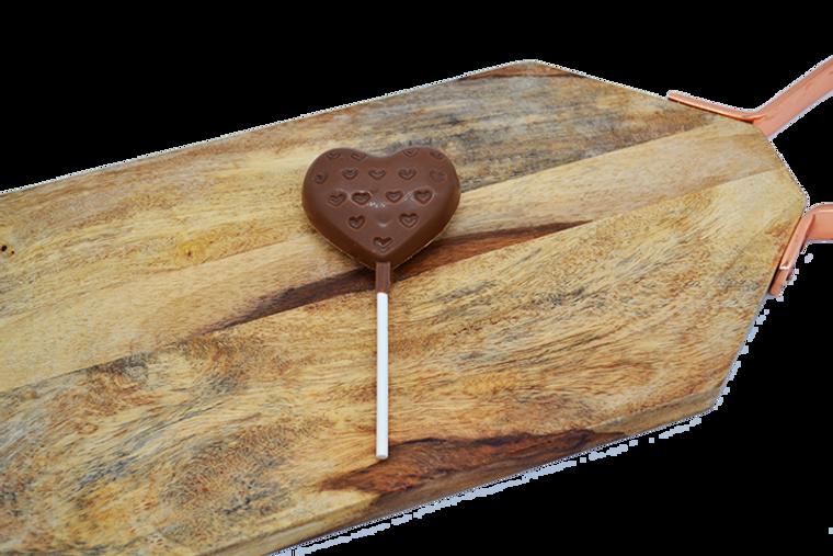 Platter's Chocolates Heart on Heart Sucker