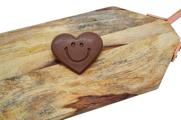 Platter's Valentine's Chocolate Smiley Heart