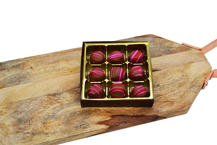 Valentine's Milk Chocolate Peanut Butter Puffs