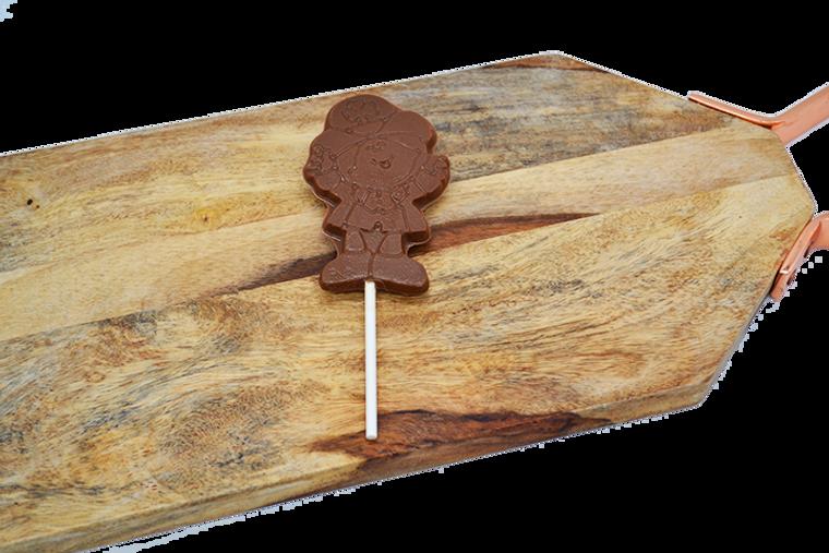 St. Patrick's Day Leprechaun Sucker from Platter's Chocolates