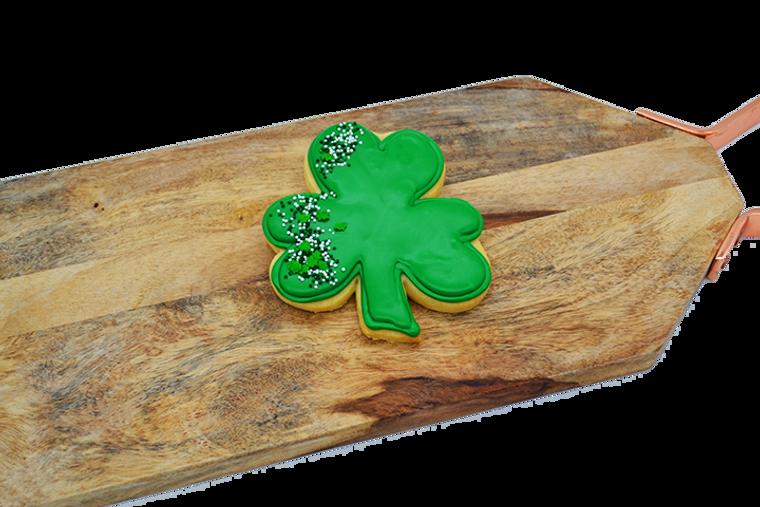 Platter's St. Patrick's Day Shamrock Shortbread Cookie