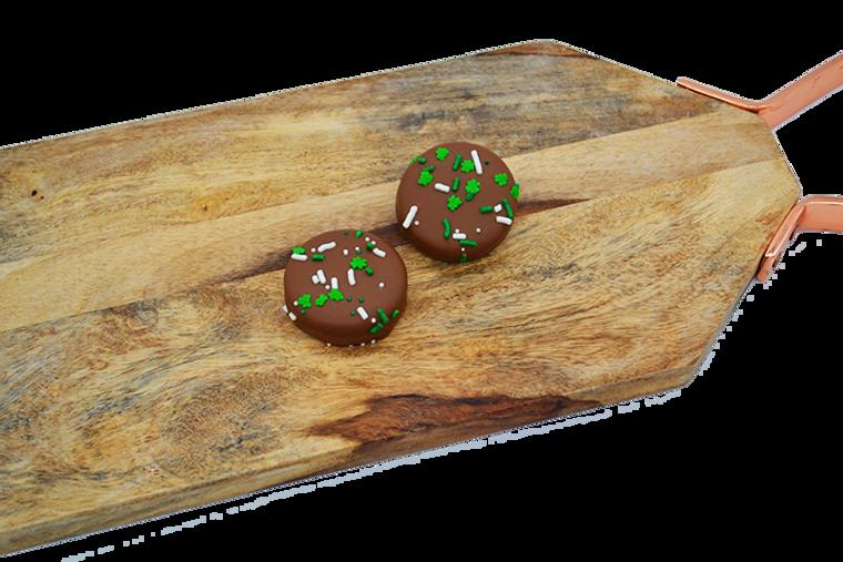 Platter's Chocolates St. Patrick's Day Chocolate Oreos