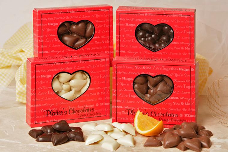 Platter's Valentine Chocolate Flats