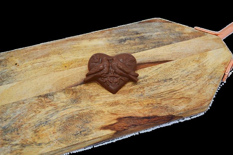 Platter's Valentine's Chocolate Dove Heart