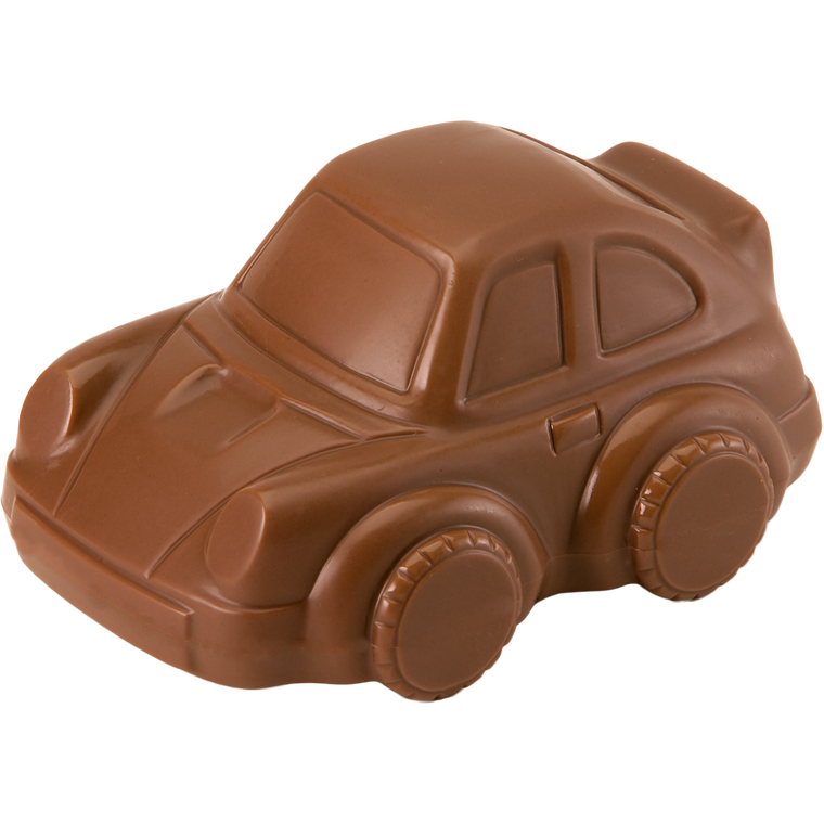 Chocolate Mini Car is available in Milk Chocolate & Orange Chocolate