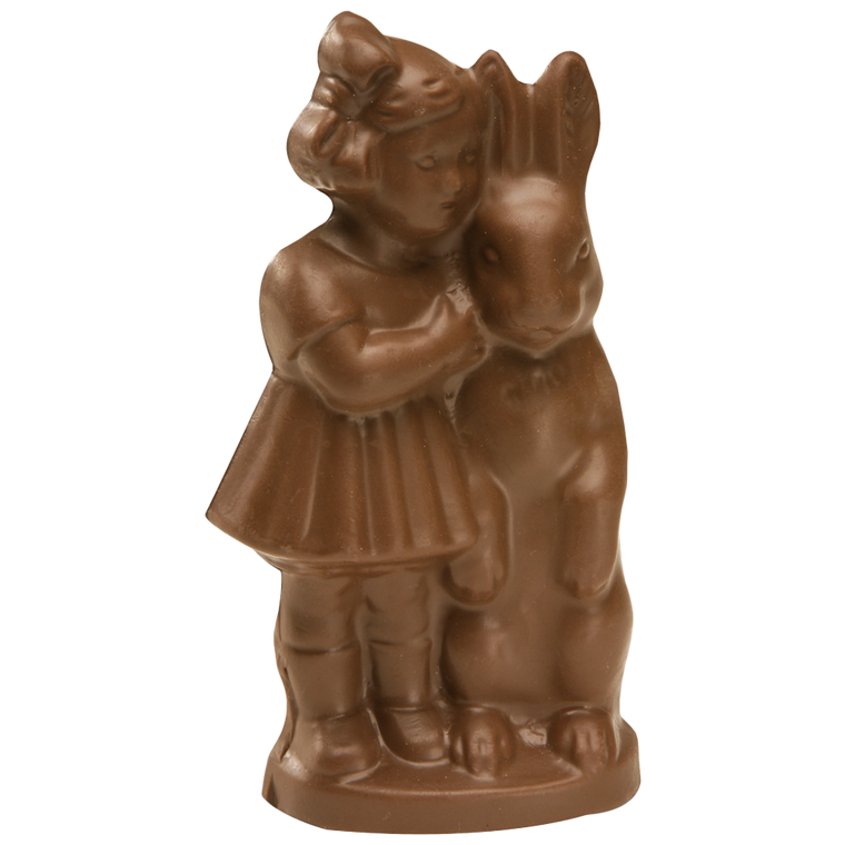 Chocolate Natalie Girl is available in Milk Chocolate & Orange Chocolate