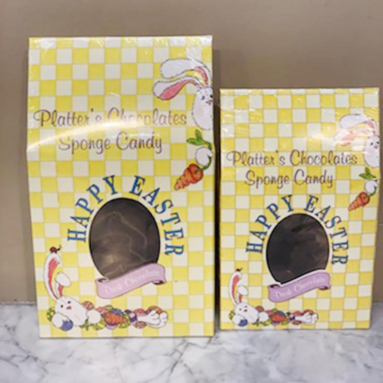 Dark Chocolate Sponge Candy in Easter Box