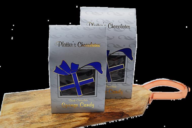 Platter's Dark Chocolate Sponge Candy - Christmas Box