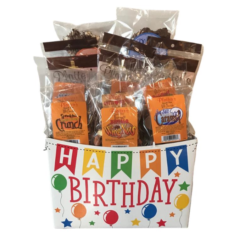 Platter's Chocolates Large Snack Size Birthday Basket
