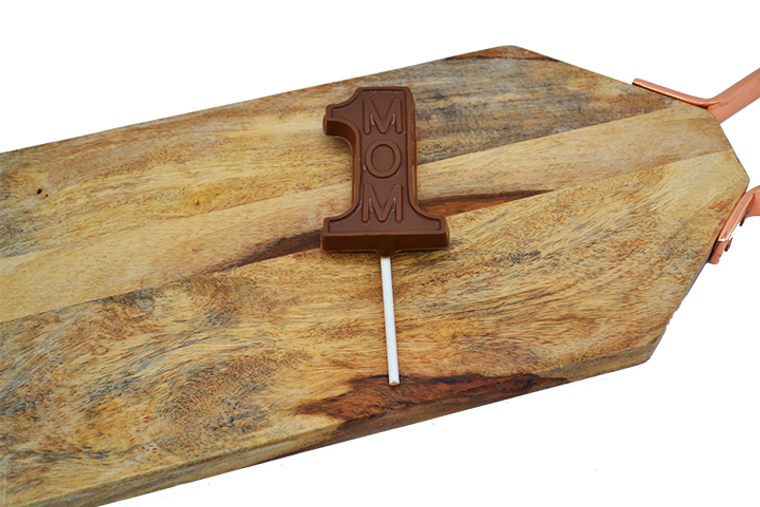 Platter's Chocolates Number One Mom Sucker