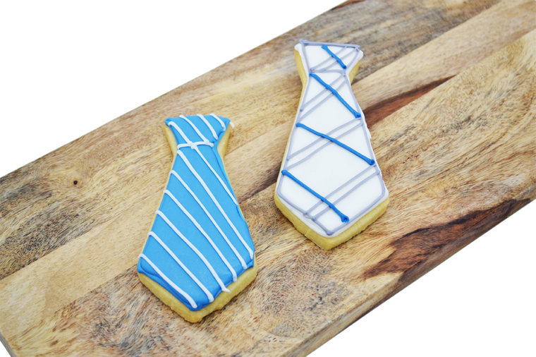Tie Shortbread Cookie for Father's Day