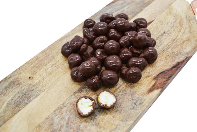 Milk Chocolate Covered Sea Salt Caramel Popcorn