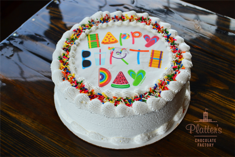 Platter's Chocolates Ice Cream Cake