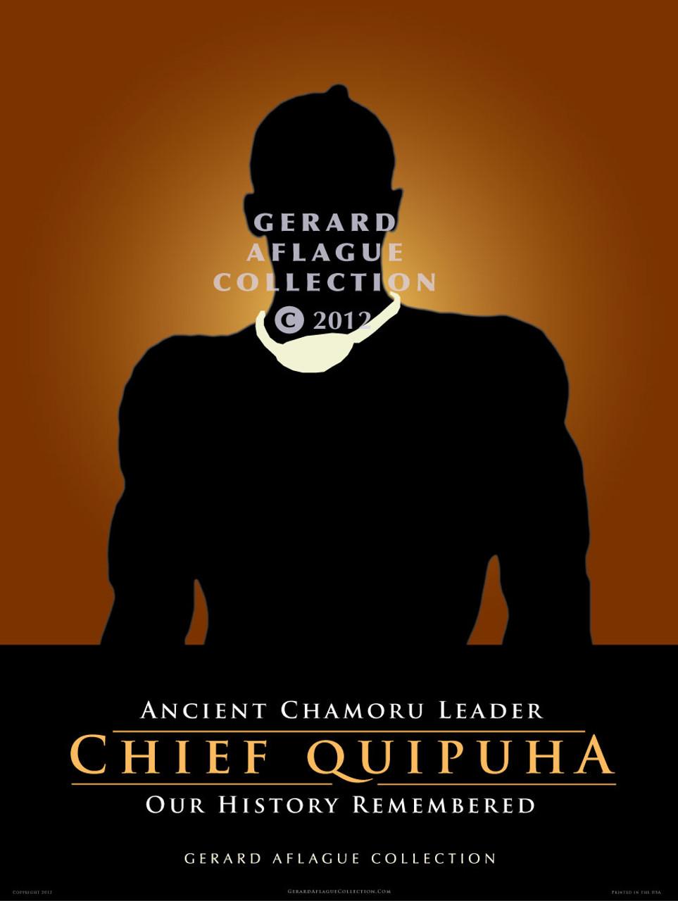 Chief Quipuha - 18x24 Poster Illustration [FBO]