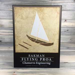 Flying Proa Sakman Plaque 18x24 inches