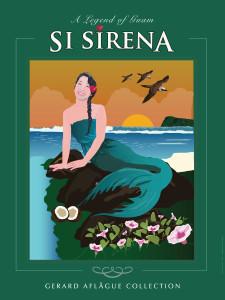 Si Sirena Illustration - 18x24 inch fine-art gallery print
