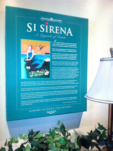 The Legend of Sirena Story - Canvas Print - 20x24 inches