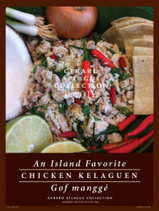 Chicken Kelaguen Poster 18x24 [FBO]
