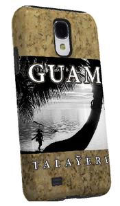Samsung Galaxy 4 Tough Case - Talayeru Guam Motif - Left View