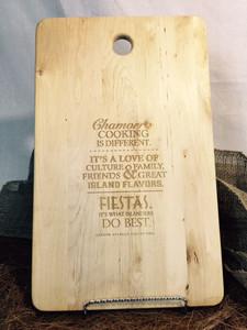 Chamorro Cooking Prose Chopping Board